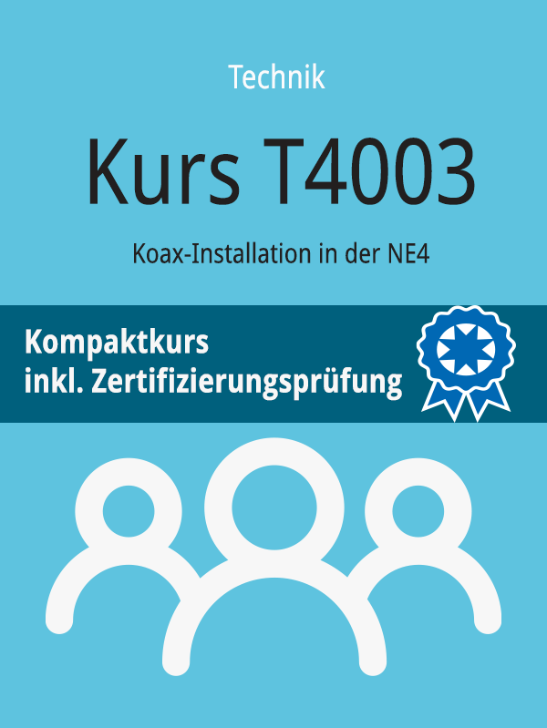 T4003: Koax-Installation in der NE 4
